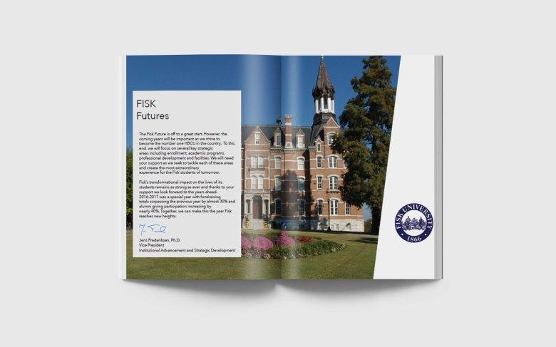 annual report spread 2