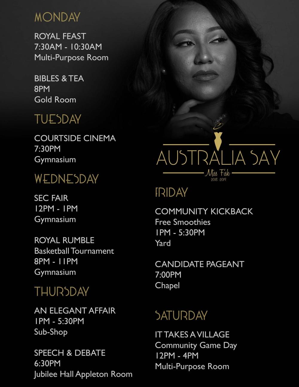 Australia event flyer 8.5x11